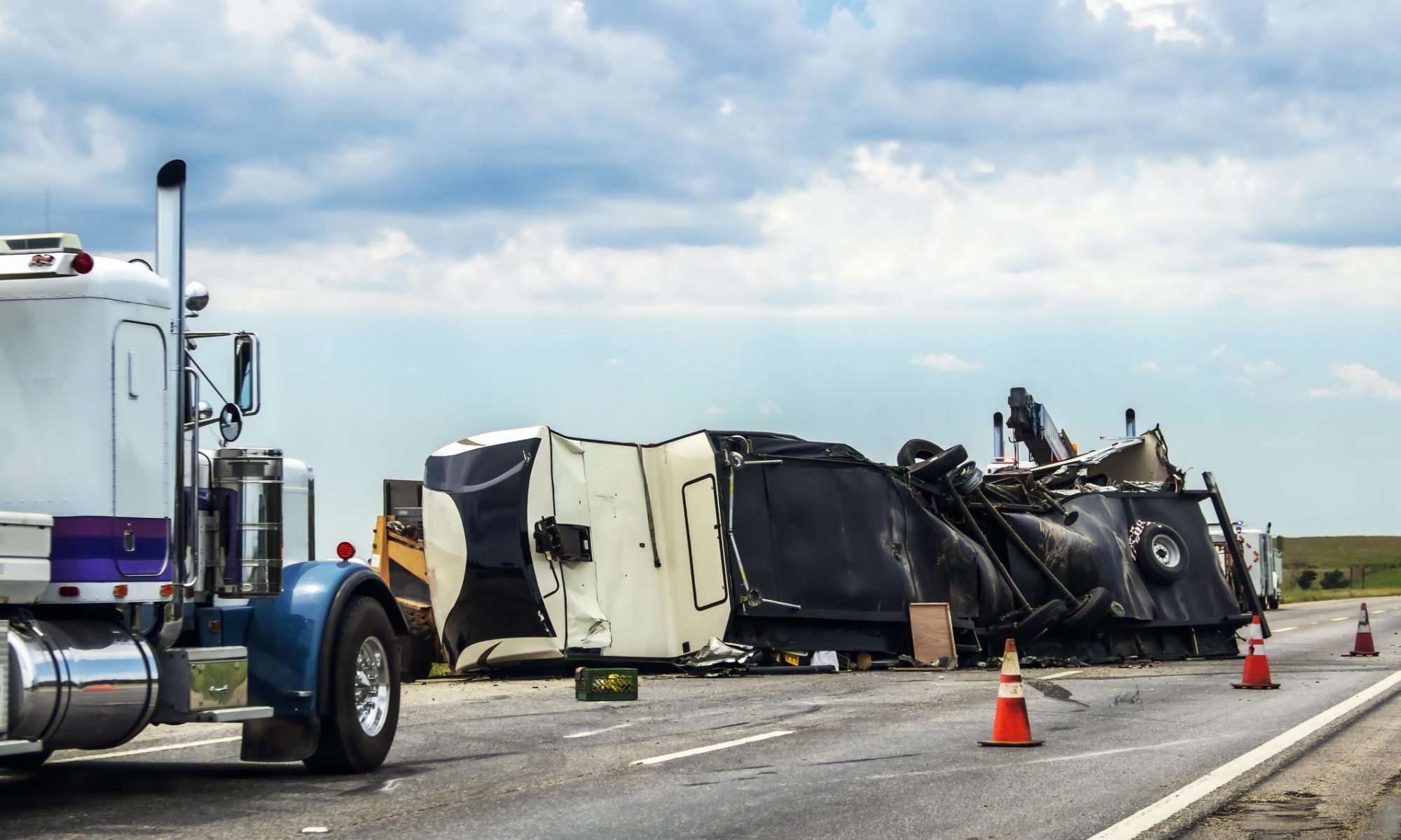 Crash Fatalities Involving Large Trucks On the Rise